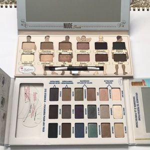 2pc TheBalm Nude Dude Balmsai Eyeshadow palette